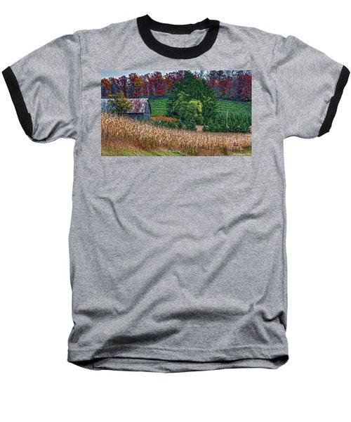 Corn And Ginseng On Poverty Hill Baseball T-Shirt