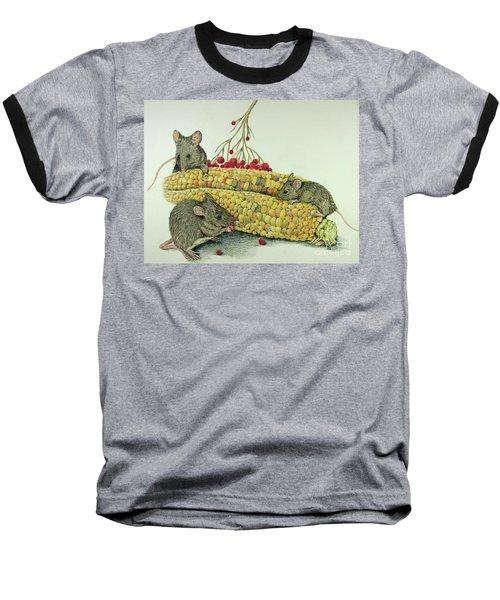 Corn Meal Baseball T-Shirt