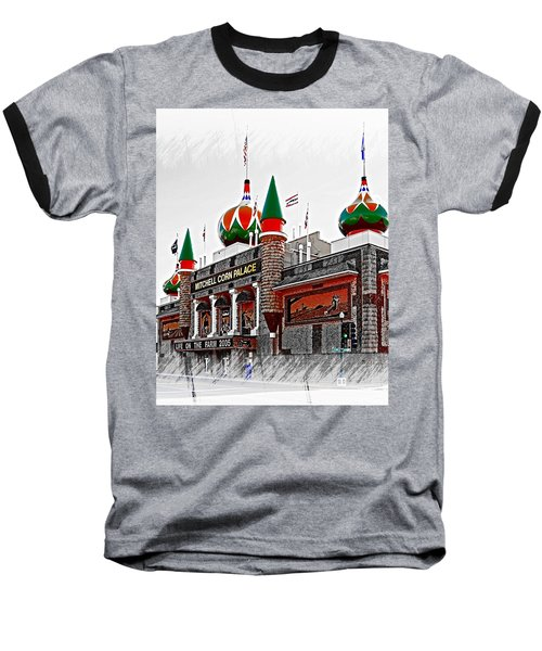 Corn Palace South Dakota Baseball T-Shirt