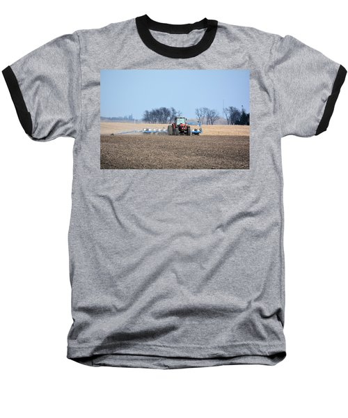 Corn Planting Baseball T-Shirt