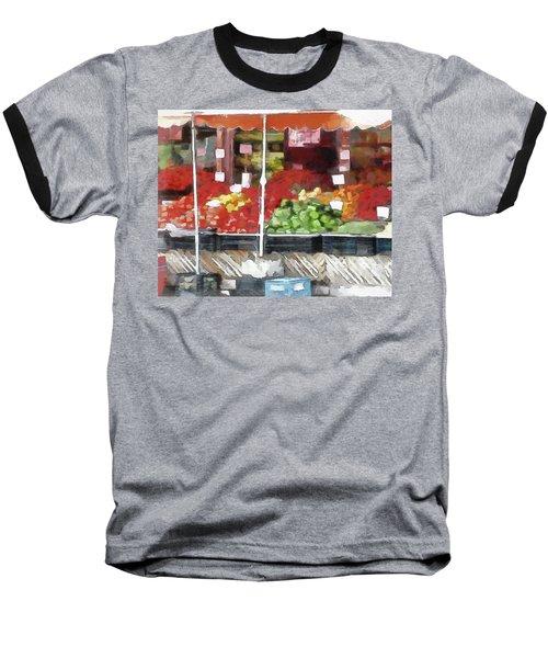 Corner Market Baseball T-Shirt