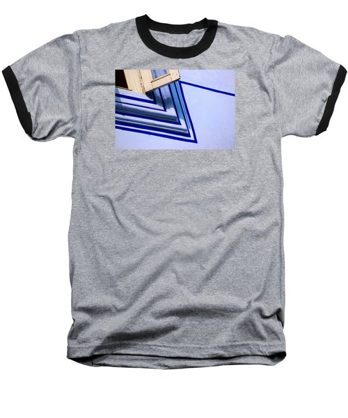 Baseball T-Shirt featuring the photograph Cornering The Blues by Prakash Ghai
