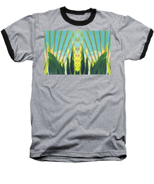 Cornfield At Sunrise Baseball T-Shirt