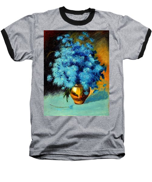 Cornflowers Baseball T-Shirt
