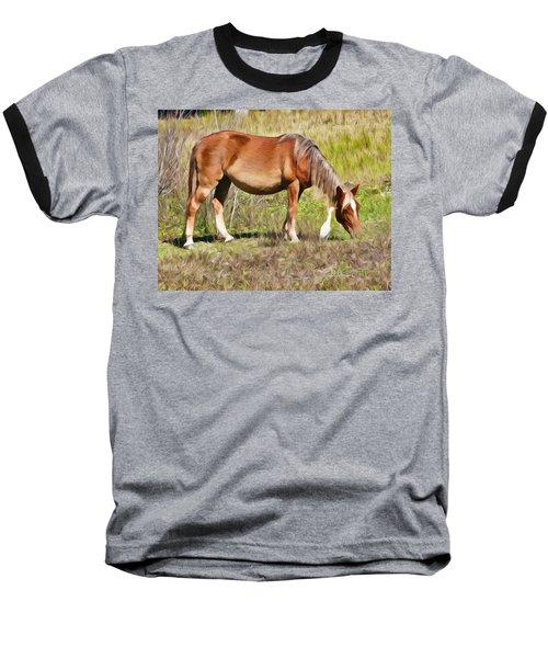 Corolla's Wild Horses Baseball T-Shirt