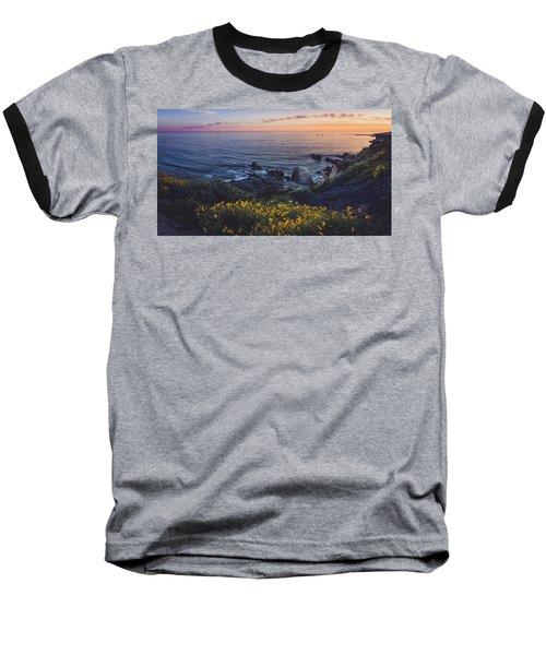 Corona Del Mar Super Bloom Baseball T-Shirt