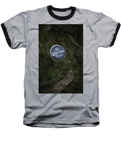 Baseball T-Shirt featuring the photograph Corona Extra by Ray Congrove