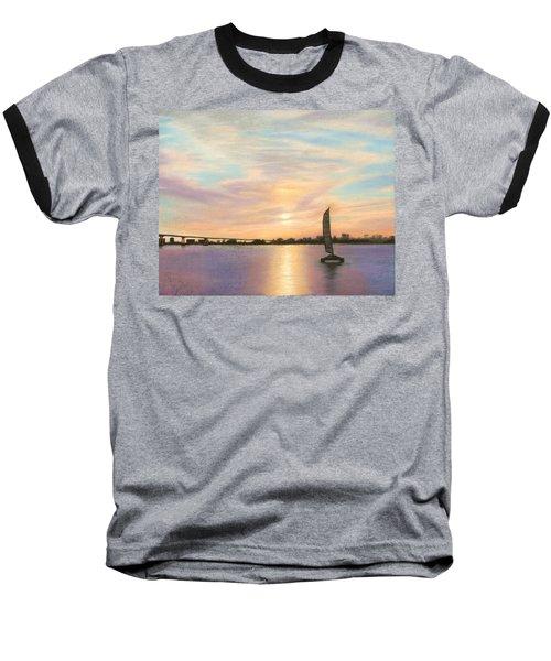 Coronado Bridge Sunset  B Baseball T-Shirt