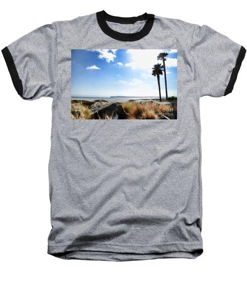 Coronado - Digital Painting Baseball T-Shirt