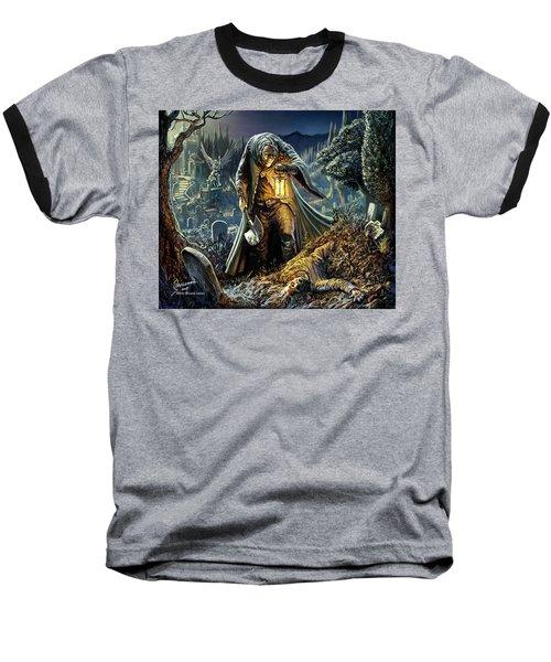 Corpse Taker Baseball T-Shirt