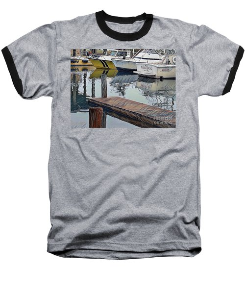 Corpus Christi Dock Baseball T-Shirt