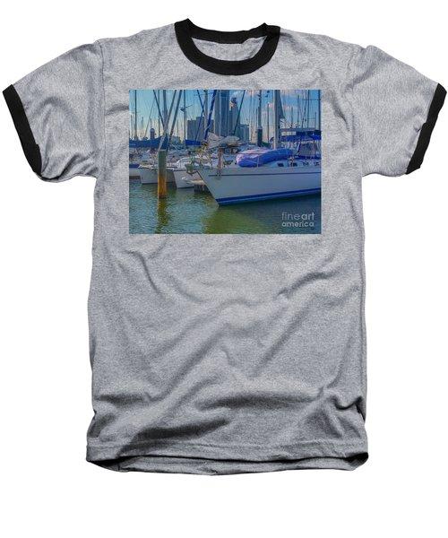 Corpus Christi Marina Baseball T-Shirt