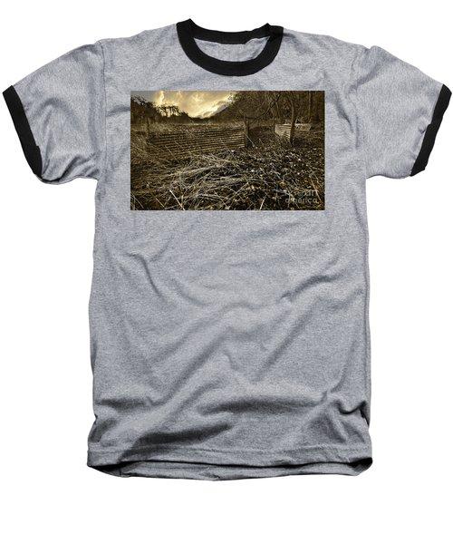 Corrugated Tin Pen Baseball T-Shirt