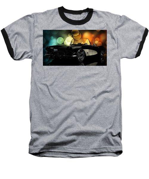Corvette 1961 Baseball T-Shirt by Louis Ferreira