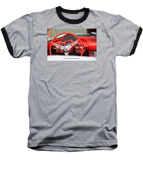 Corvette Baseball T-Shirt