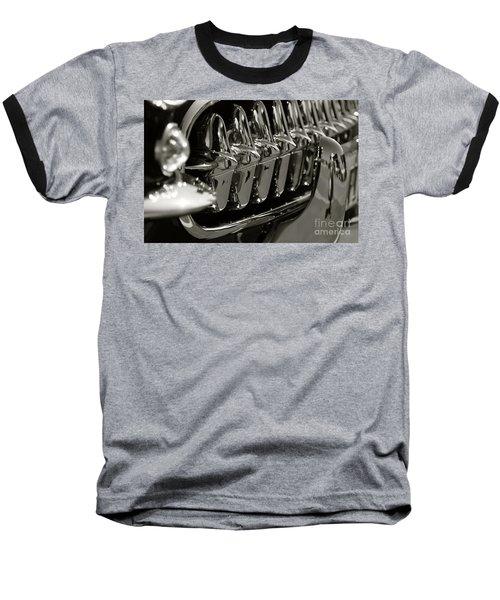 Corvette Grill Baseball T-Shirt