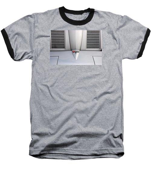 Corvette Hood Baseball T-Shirt