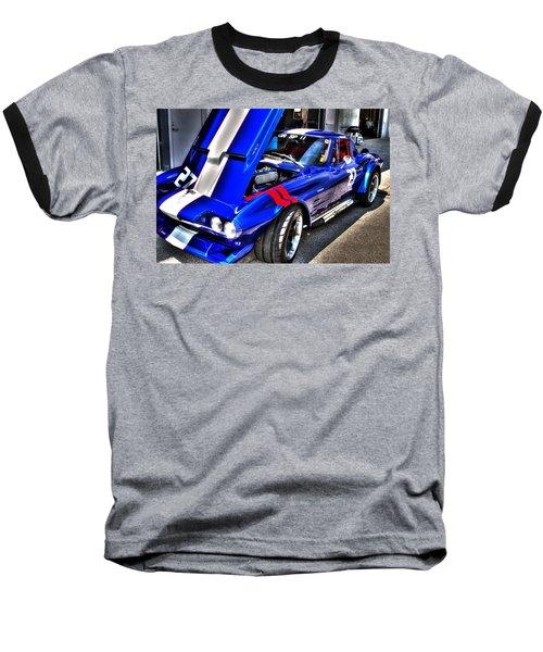 Corvette Baseball T-Shirt by Josh Williams