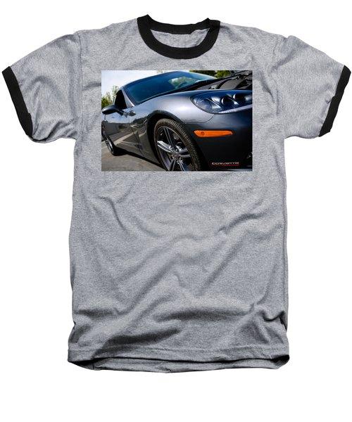 Corvette Racing Baseball T-Shirt
