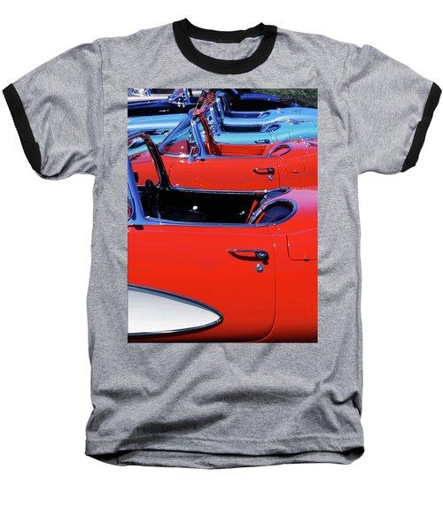 Corvette Row Baseball T-Shirt