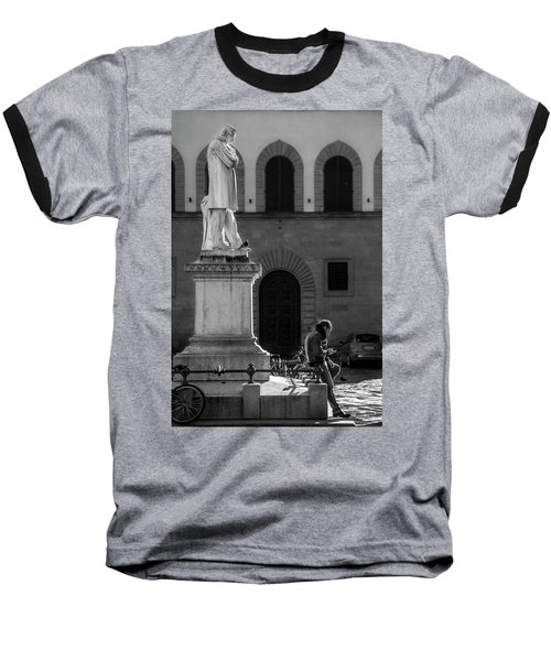 Baseball T-Shirt featuring the photograph Cosimo Ridolfi by Sonny Marcyan