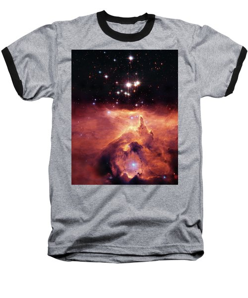 Cosmic Cave Baseball T-Shirt