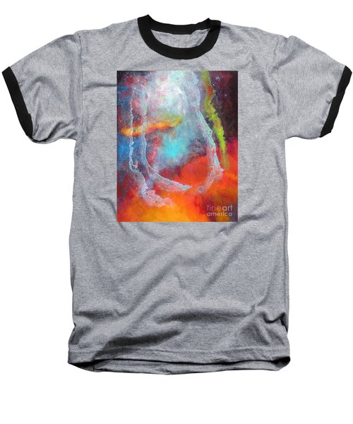 Fantasies In Space Series Painting. Cosmic Concerto Baseball T-Shirt