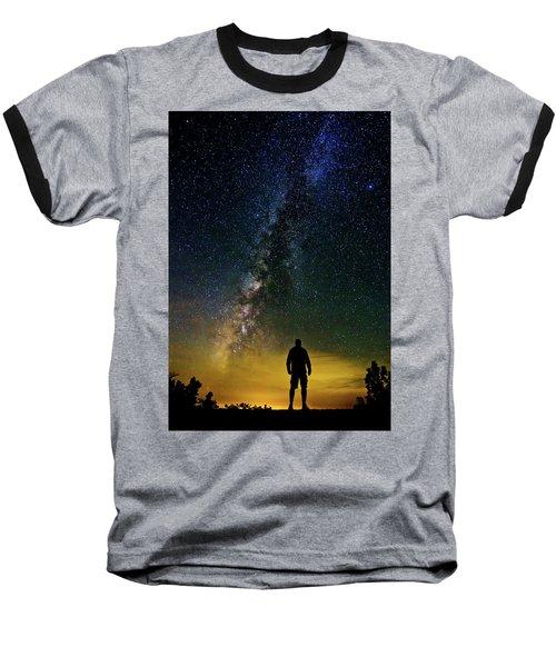 Cosmic Contemplation Baseball T-Shirt