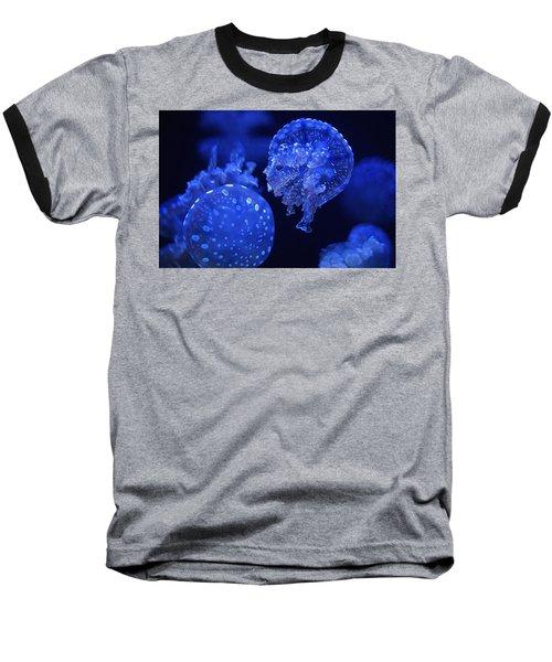 Cosmic Jellyfish 3 Baseball T-Shirt