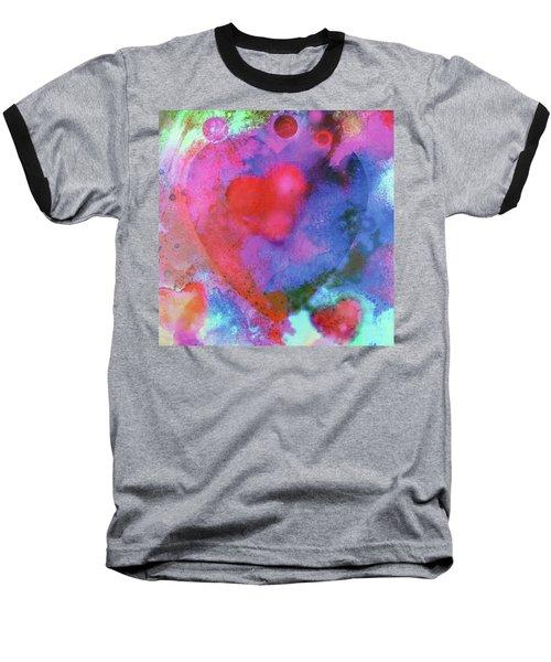 Cosmic Love Baseball T-Shirt