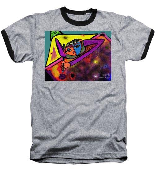 Cosmic Pool Baseball T-Shirt
