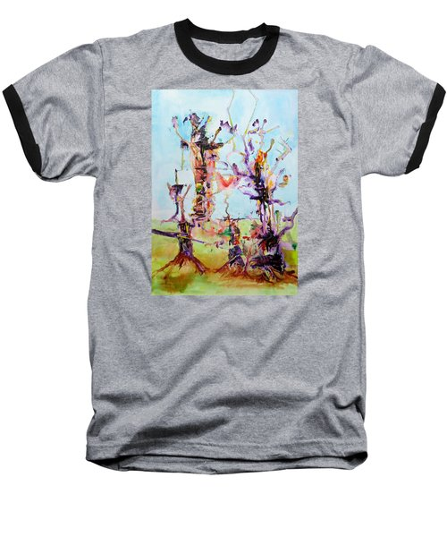 Cosmic Tree Family Baseball T-Shirt