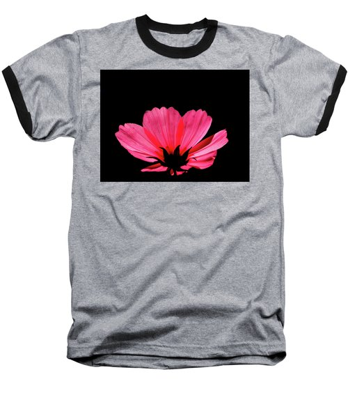 Cosmos Bloom Baseball T-Shirt