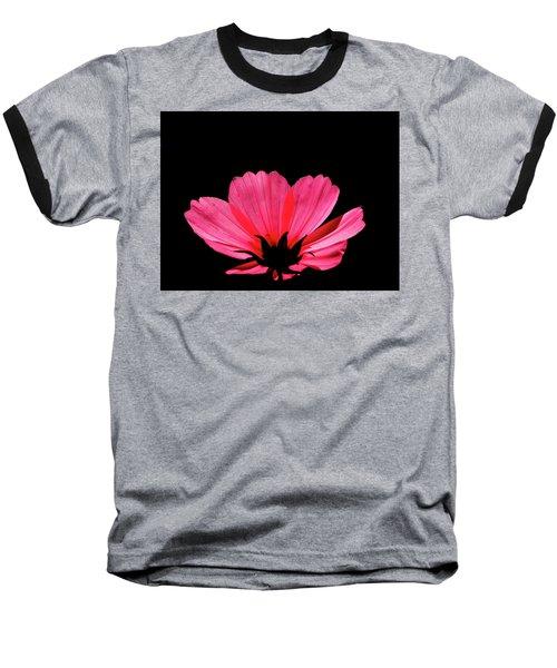 Cosmos Bloom Baseball T-Shirt