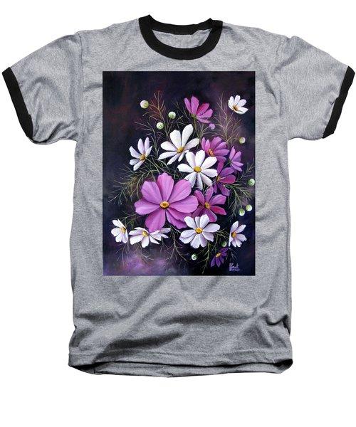 Cosmos Baseball T-Shirt by Katia Aho