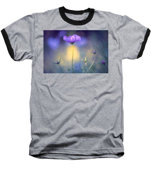 Cosmos Pose Baseball T-Shirt