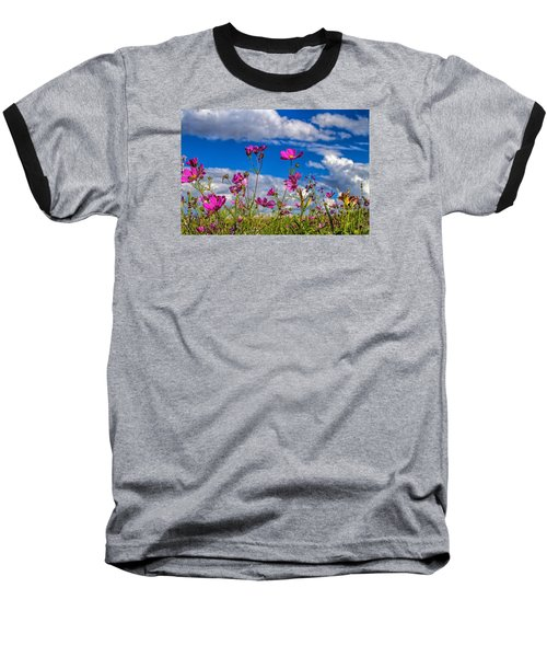 Cosmos Sky Baseball T-Shirt