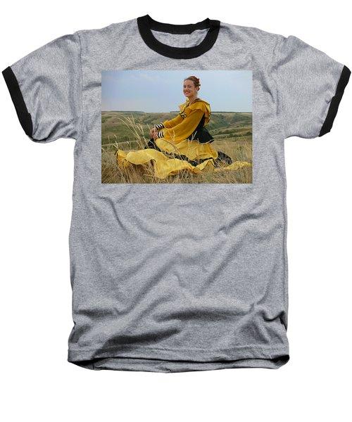 Cossack Young Lady Baseball T-Shirt