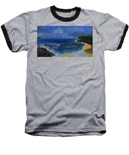 Costa Rica Beach Baseball T-Shirt