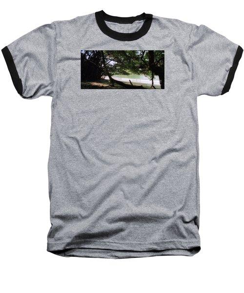 Costa Rica Beach Cove Baseball T-Shirt