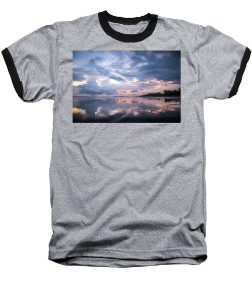 Baseball T-Shirt featuring the photograph Costa Rican Sunset by David Morefield