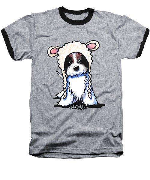 Coton De Tulear Baseball T-Shirt by Kim Niles