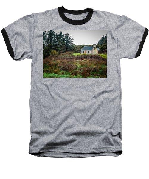 Cottage In The Irish Countryside Baseball T-Shirt