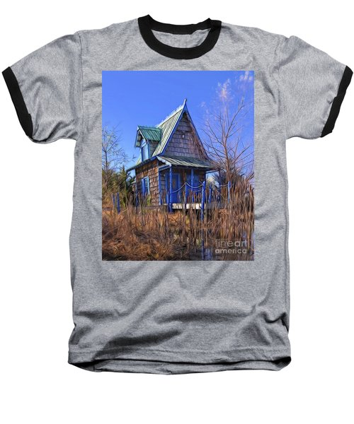 Cottage In The Willows Baseball T-Shirt