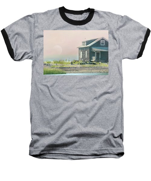 Cottage On The Sound Baseball T-Shirt