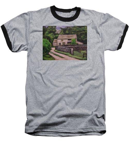 Cottage Road Baseball T-Shirt by Ron Richard Baviello