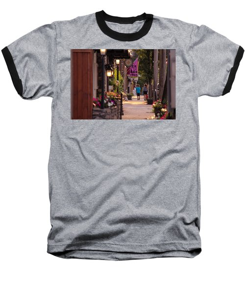 Cottage Street Stroll Baseball T-Shirt