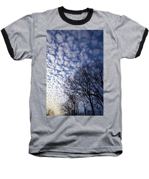 Cotton Boll Sky Baseball T-Shirt