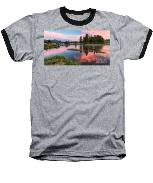 Cotton Candy Skies Baseball T-Shirt