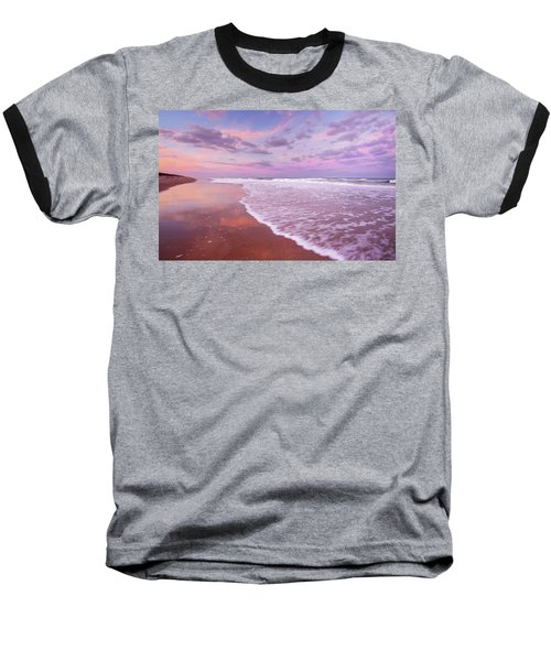 Cotton Candy Sunset. Baseball T-Shirt